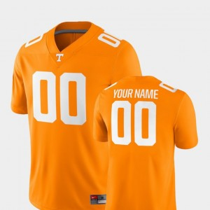 For Men 2018 Game #00 Football College Customized Jerseys Tennessee Orange TN VOLS