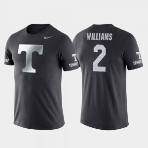 Basketball Performance Tennessee Anthracite Men's Travel Grant Williams College T-Shirt #2