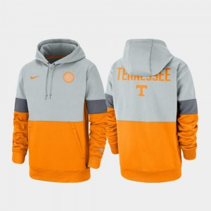 Tennessee Volunteers For Men Rivalry College Hoodie Gray Tennessee Orange Therma Performance Pullover