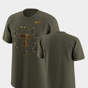 Legend Camo College T-Shirt Olive Men Tennessee