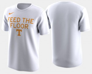 2018 March Madness Bench Legend Performance College T-Shirt For Men White Basketball Tournament UT VOL