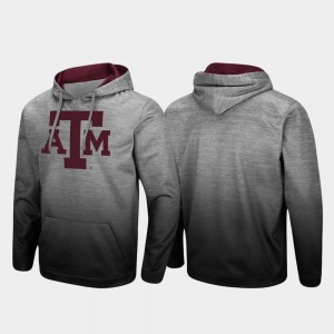 Heathered Gray Pullover Sitwell Sublimated For Men's College Hoodie Aggie