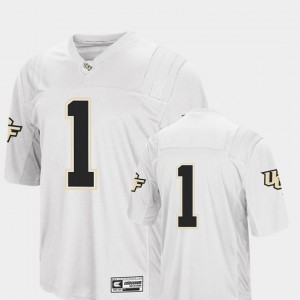White Football College Jersey Colosseum Mens #1 UCF Knights