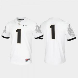 College Jersey White Untouchable Men #1 Game Knights