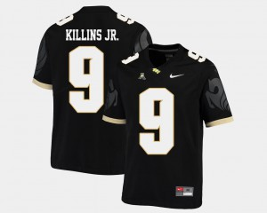 Black #9 Adrian Killins Jr. College Jersey UCF Knights American Athletic Conference Men Football