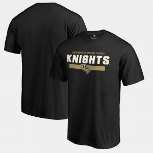 Team Strong Black UCF Knights For Men's College T-Shirt