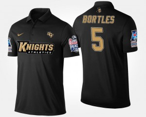 For Men's American Athletic Conference Peach Bowl Navy UCF #5 Blake Bortles College Polo Bowl Game