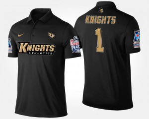 Bowl Game #1 No.1 American Athletic Conference Peach Bowl UCF Navy College Polo Men