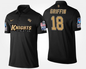UCF Knights Navy Bowl Game Shaquem Griffin College Polo #18 American Athletic Conference Peach Bowl Men's