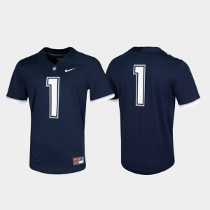 Navy College Jersey UConn Game For Men's Untouchable #1