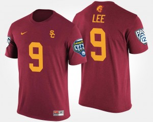 Marqise Lee College T-Shirt Mens Bowl Game Cardinal Trojans #9 Pac-12 Conference Cotton Bowl