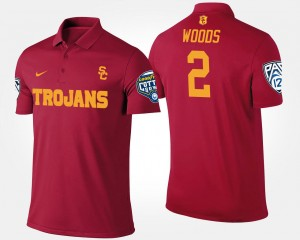 Bowl Game Pac-12 Conference Cotton Bowl Cardinal #2 USC Robert Woods College Polo Men's