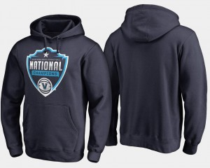 College Hoodie For Men's 2018 Cut Nova Navy Basketball National Champions