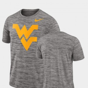 Mens 2018 Player Travel Legend Performance College T-Shirt West Virginia Charcoal