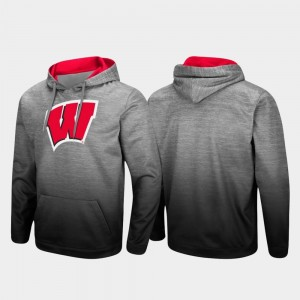 Heathered Gray Pullover Men Sitwell Sublimated UW College Hoodie