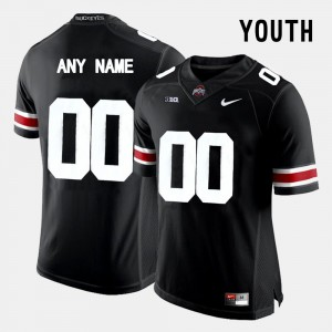 Buckeye Limited Football #00 College Customized Jersey Youth Black