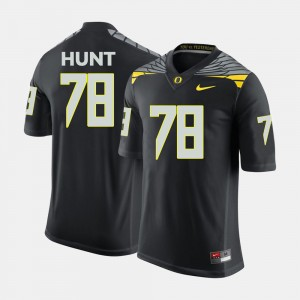 UO #78 Black For Men's Football Cameron Hunt College Jersey