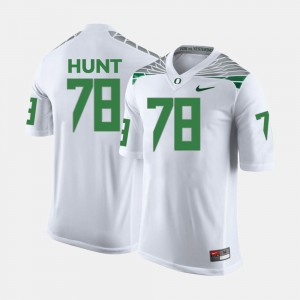 UO For Men's Cameron Hunt College Jersey #78 Football White
