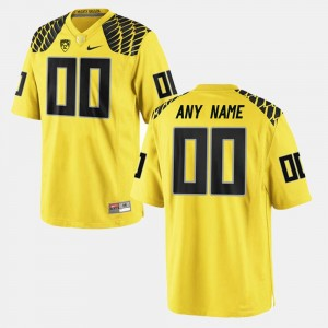 Yellow Limited Football College Customized Jersey UO For Men's #00