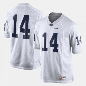 College Jersey #14 White Football Penn State For Men's