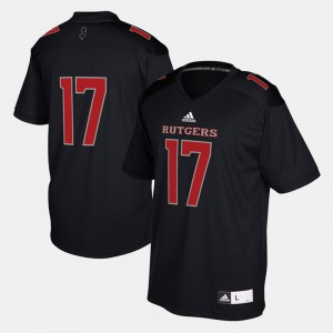 Rutgers Scarlet Knights Black 2017 Special Games College Jersey #17 For Men's