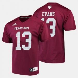 Men's Mike Evans College Jersey #13 Aggie Maroon Football
