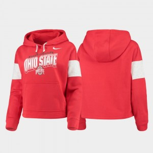 OSU Women's Local Scarlet Pullover College Hoodie
