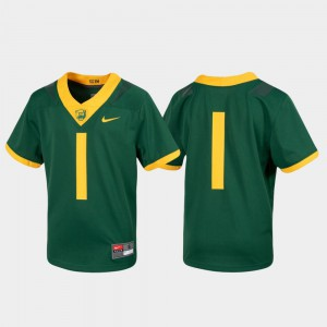 College Jersey #1 Green For Kids Untouchable Football Baylor