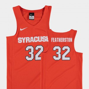 Replica Basketball Youth(Kids) Ray Featherston College Jersey Orange Syracuse #32