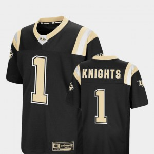 Youth Colosseum Foos-Ball Football Black Knights College Jersey #1