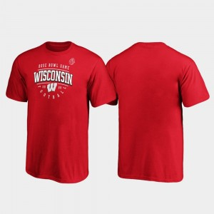 Tackle College T-Shirt Red 2020 Rose Bowl Bound Youth UW